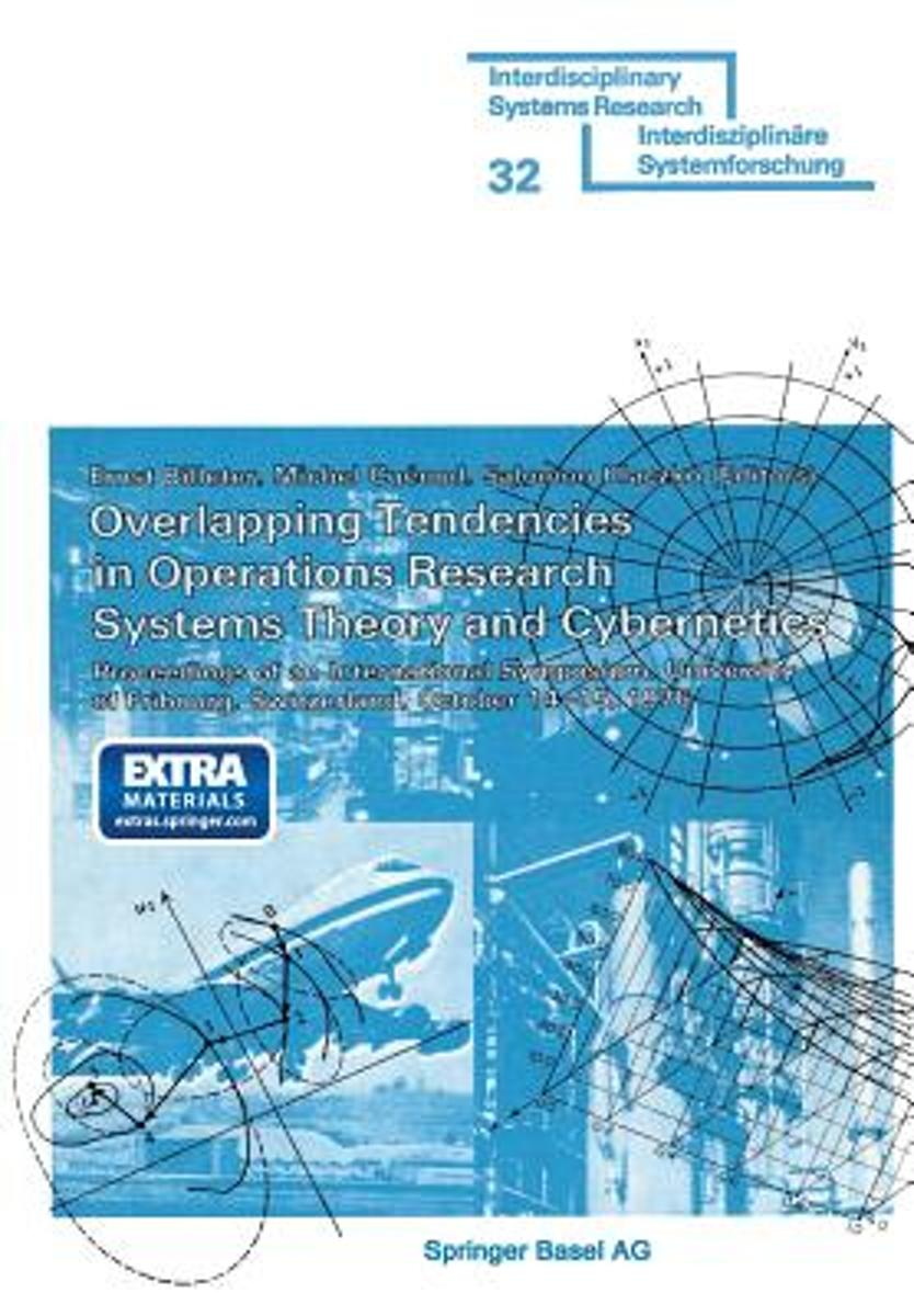 Overlapping Tendencies in Operations Research Systems Theory and Cybernetics