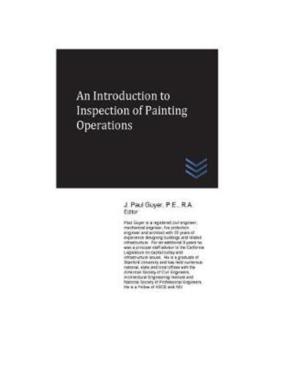 An Introduction to Inspection of Painting Operations