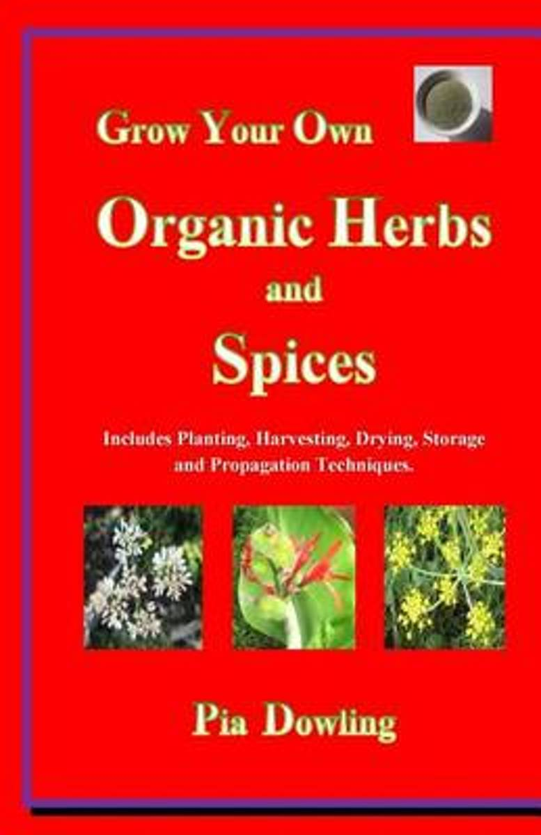 Grow Your Own Organic Herbs and Spices
