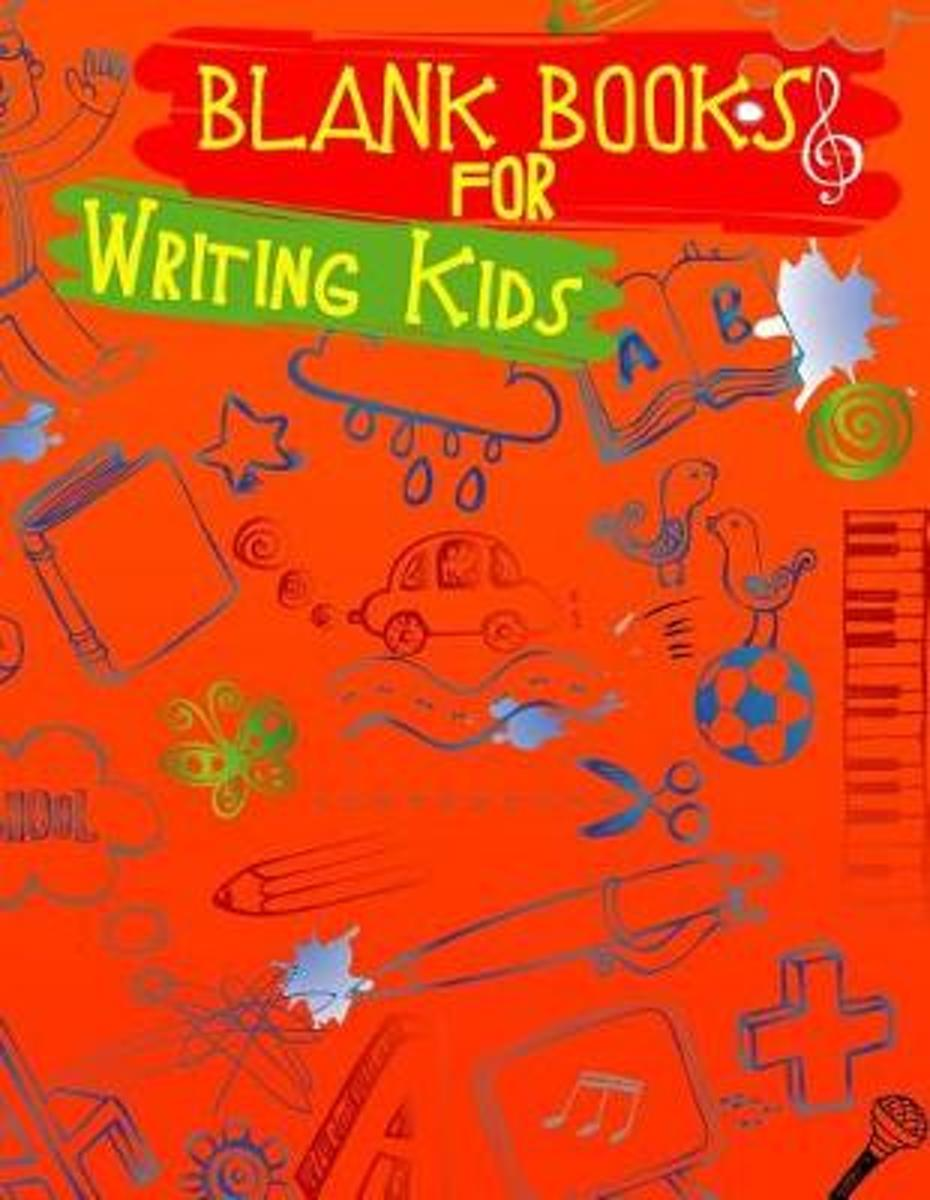 Blank Books for Writing Kids