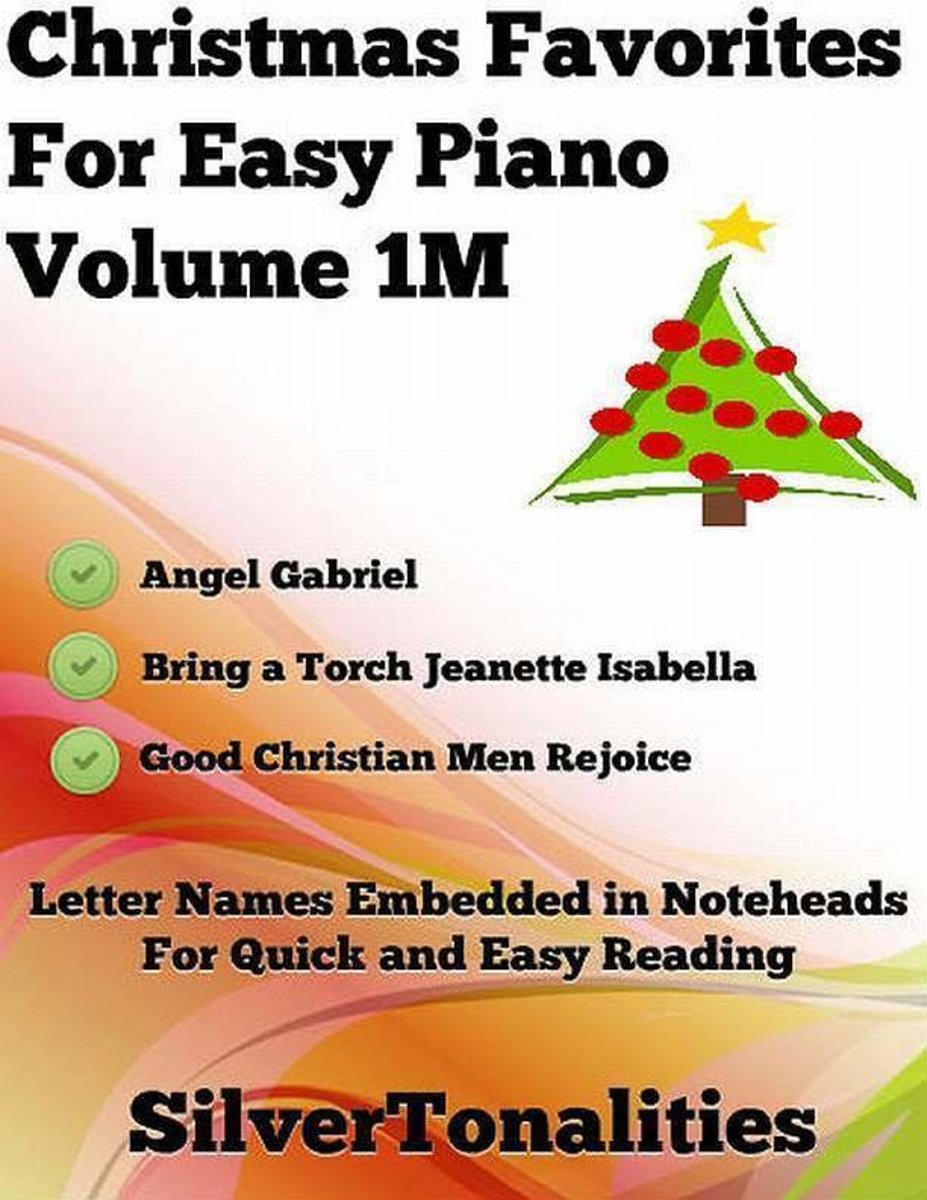 Christmas Favorites for Easy Piano Volume 1 M