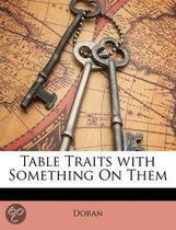 Table Traits With Something On Them