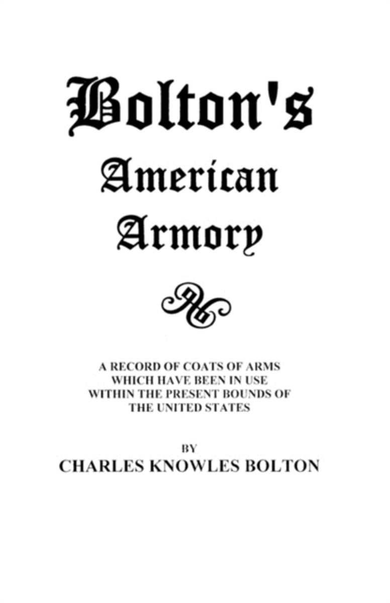 Bolton's American Armory