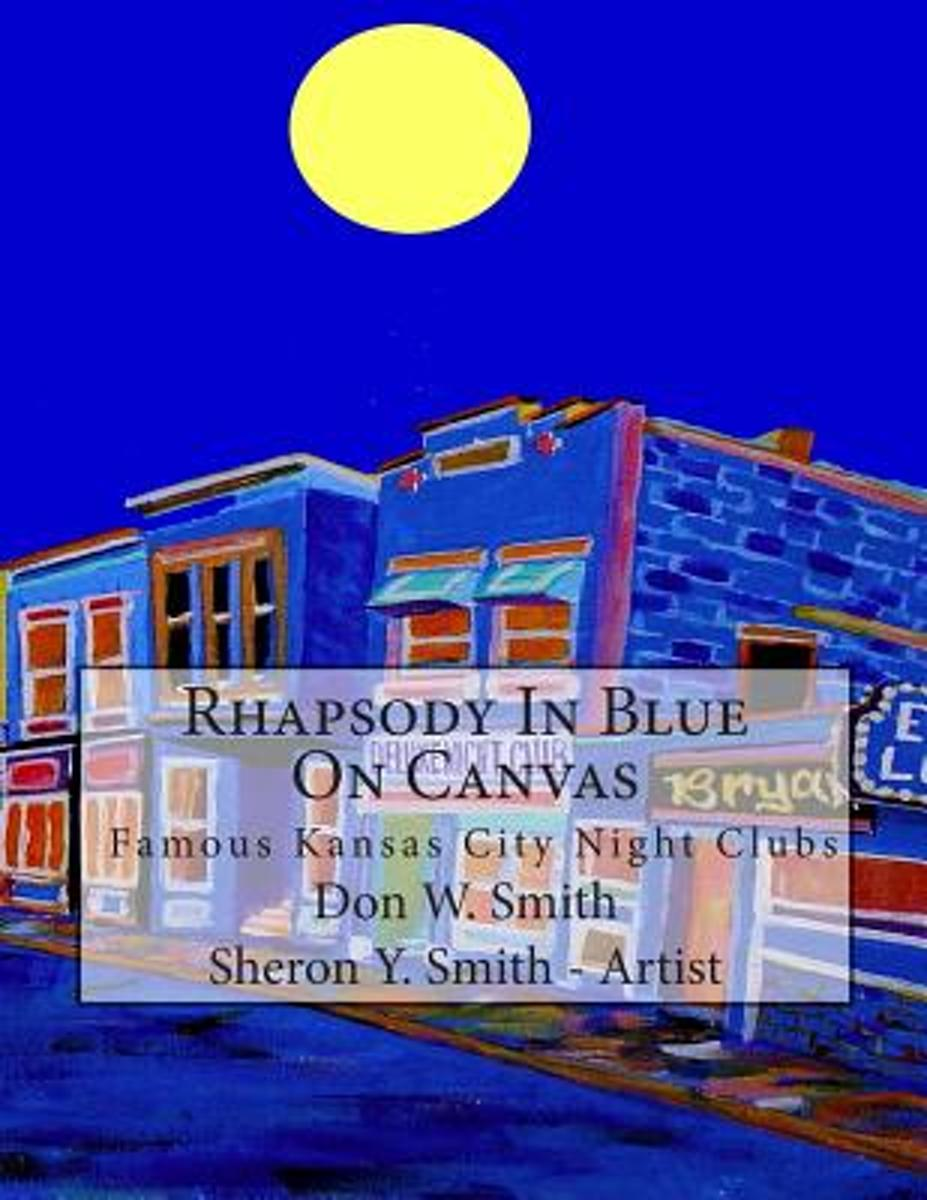Rhapsody in Blue on Canvas