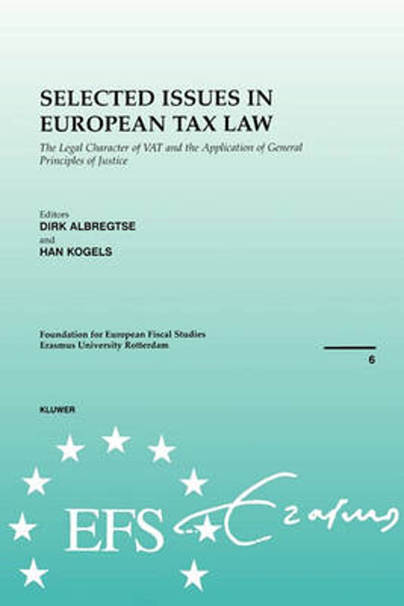 Selected Issues in European Tax Law