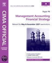 Cima Learning System 2007 Management Accounting - Financial Strategy