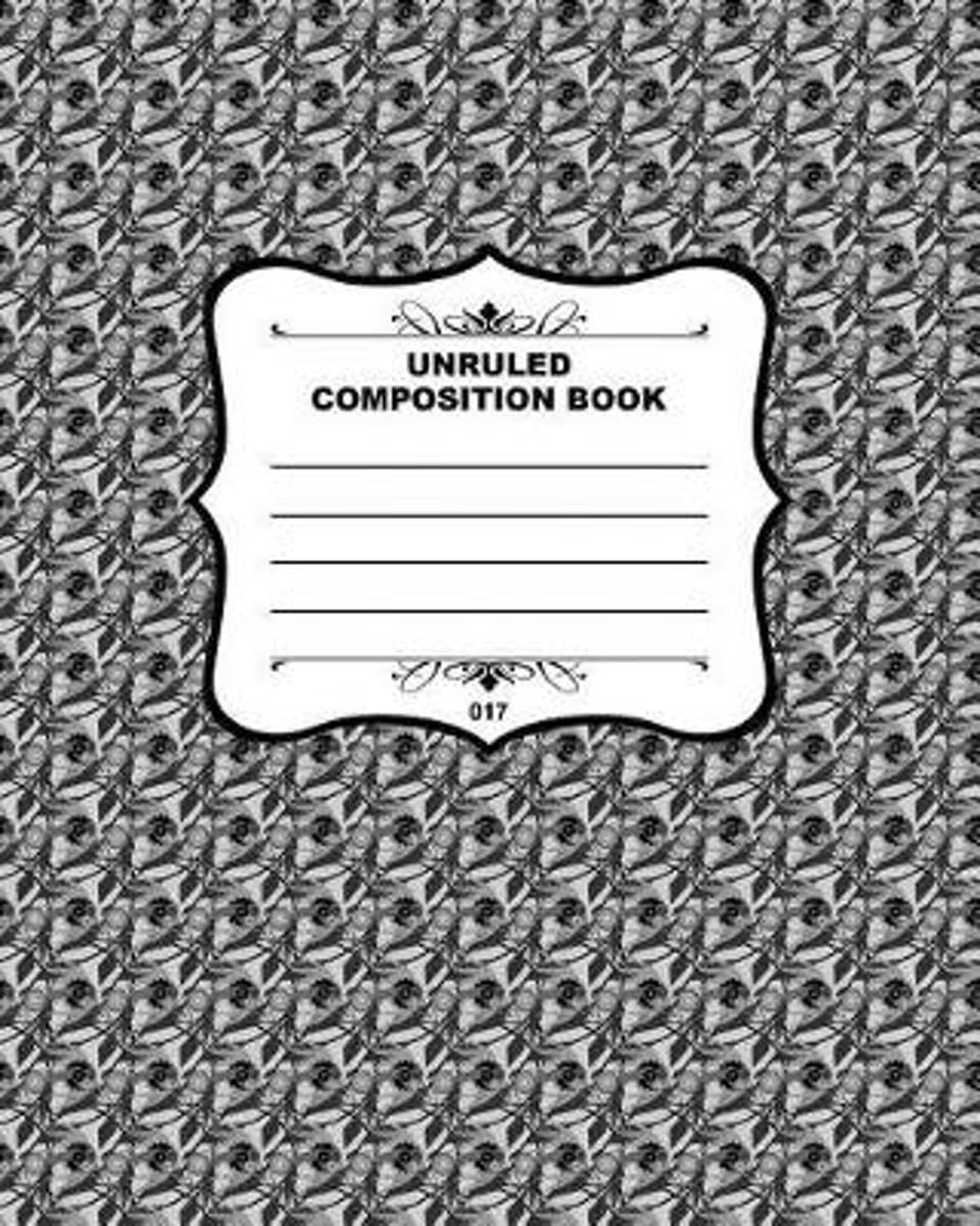 Unruled Composition Book 017