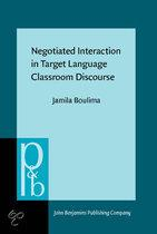 Negotiated Interaction in Target Language Classroom ...