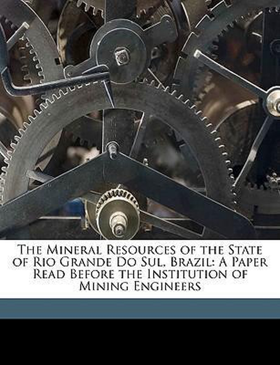 The Mineral Resources Of The State Of Ri