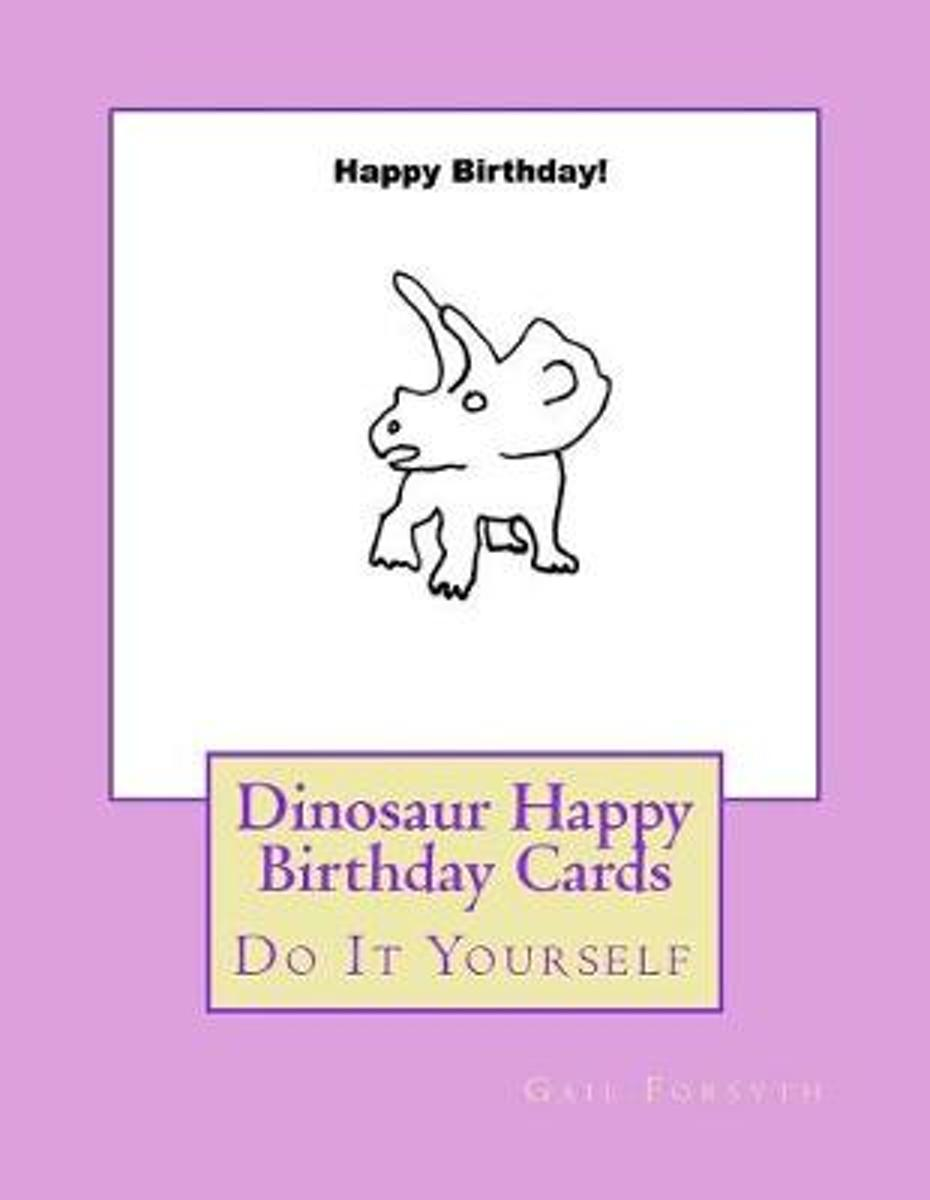 Dinosaur Happy Birthday Cards