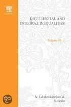 Differential and Integral Inequalities; Theory and Applications Part B