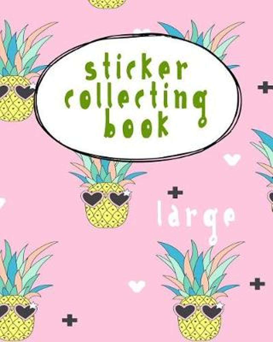 Sticker Collecting Book Large