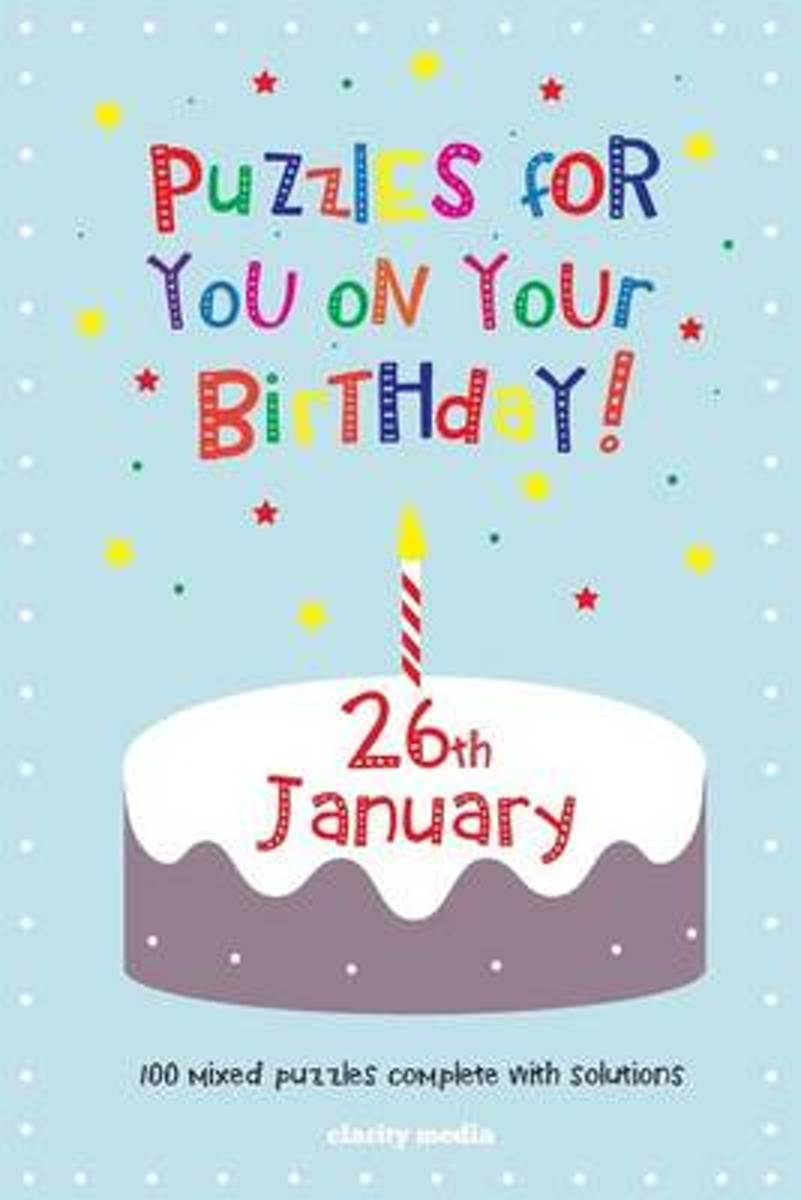 Puzzles for You on Your Birthday - 26th January