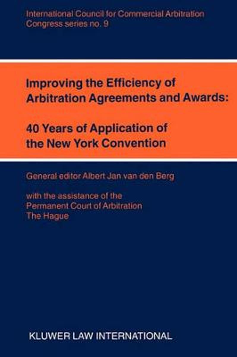 Improving the Efficiency of Arbitration and Awards