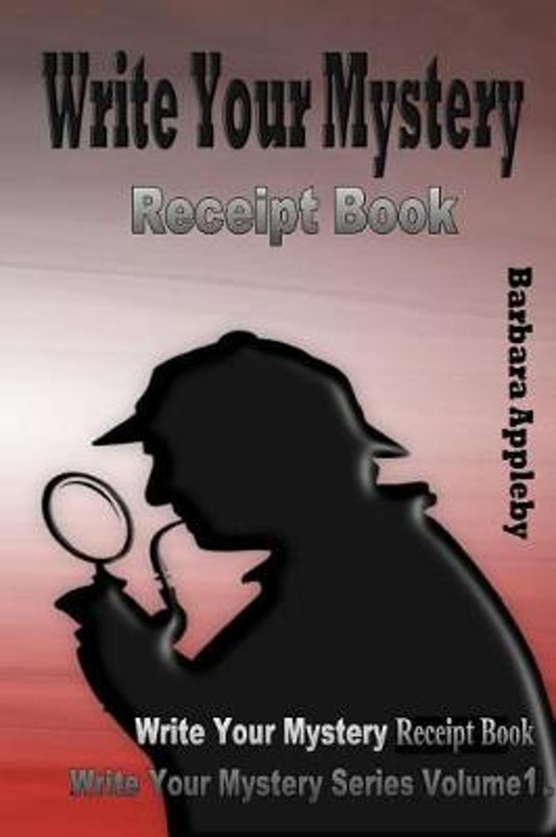 Write Your Mystery Receipt Book