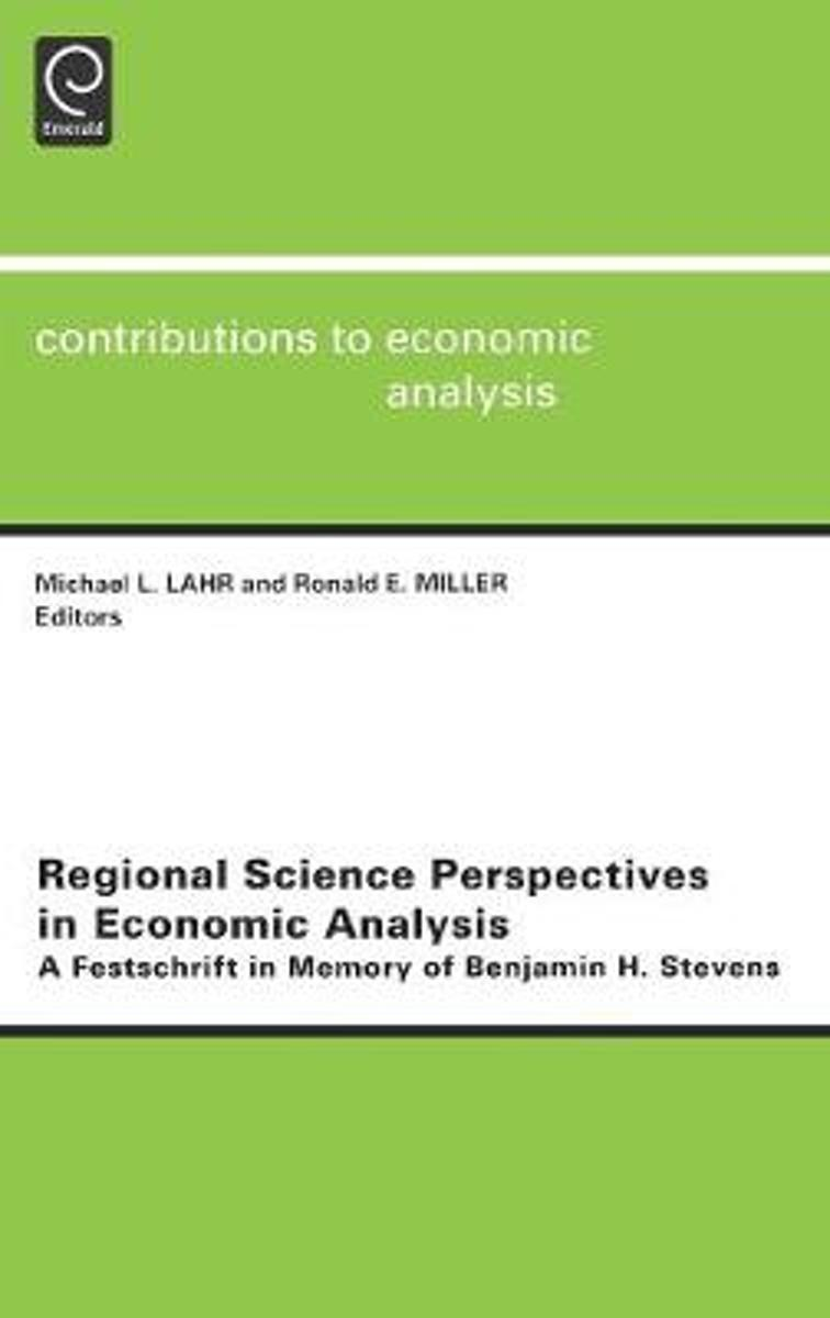 Regional Science Perspectives in Economic Analysis