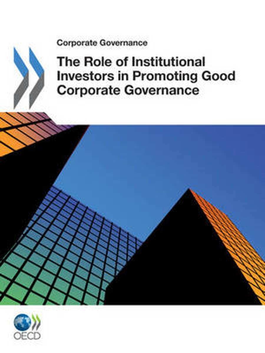 The role of institutional investors in promoting good corporate governance