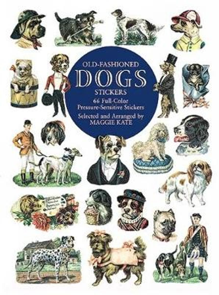 Old-Fashioned Dogs Stickers