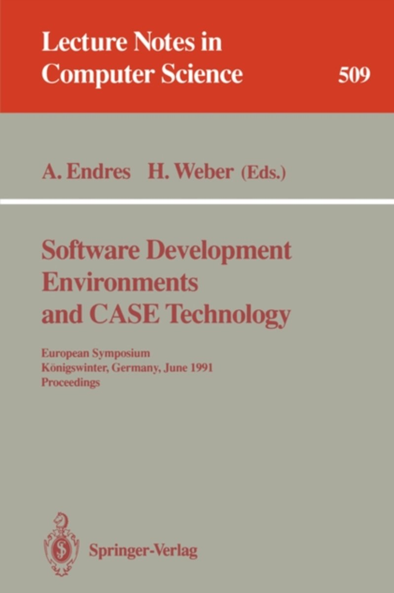 Software Development Environments and Case Technology