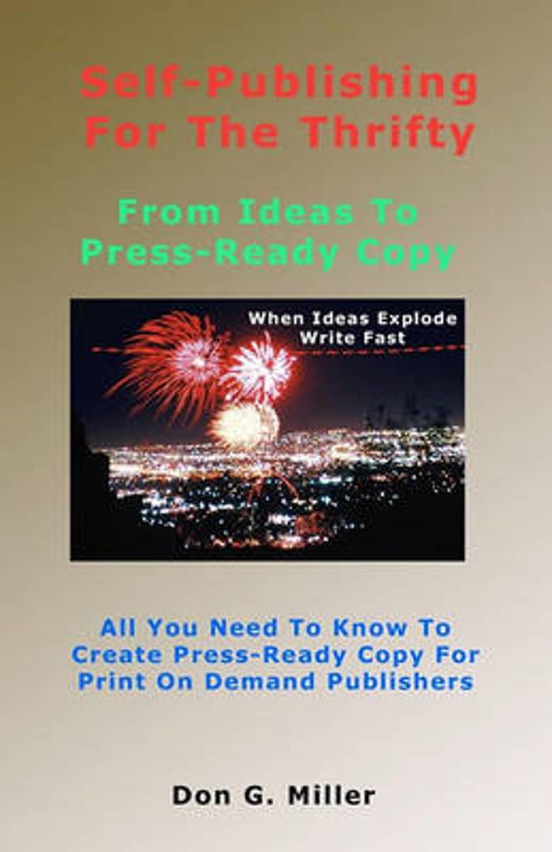 Self-Publishing for the Thrifty
