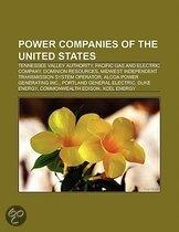 Power Companies Of The United States: Tennessee Valley Authority, Alcoa Power Generating Inc., Pacific Gas And Electric Company
