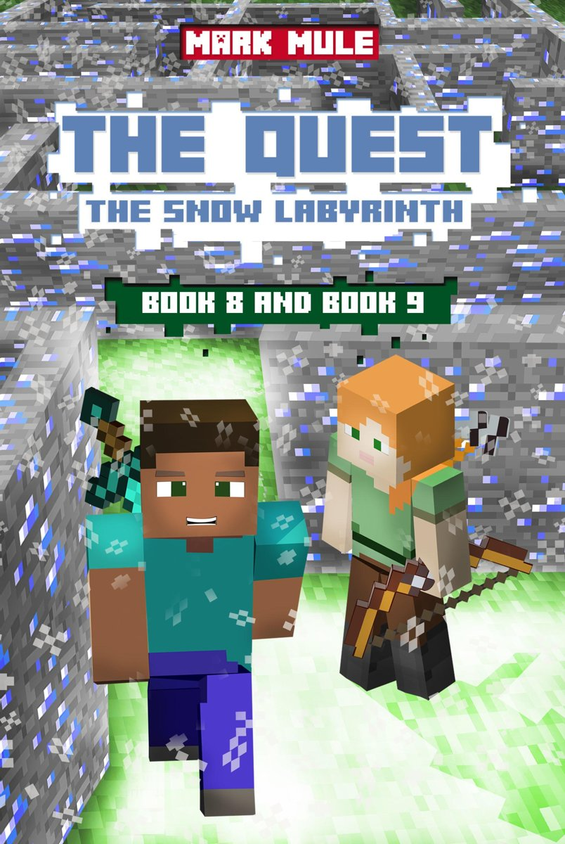 The Quest: The Snow Labyrinth, Book 8 and Book 9