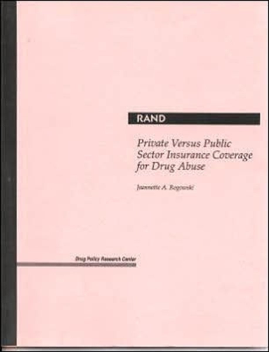 Private versus Public Sector Insurance Coverage for Drug Abuse