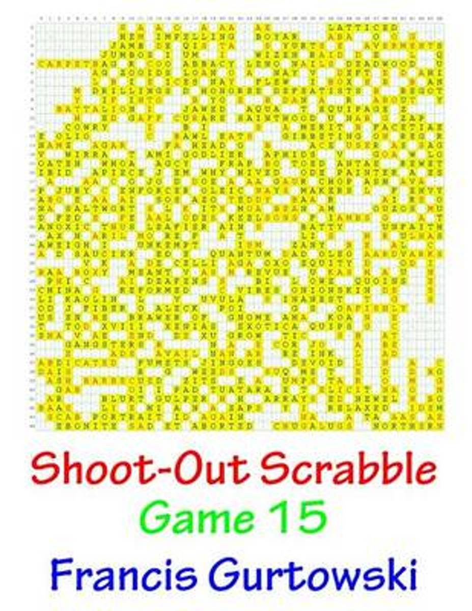 Shoot-Out Scrabble Game 15