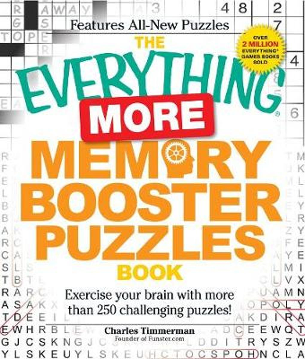 The Everything More Memory Booster Puzzles Book