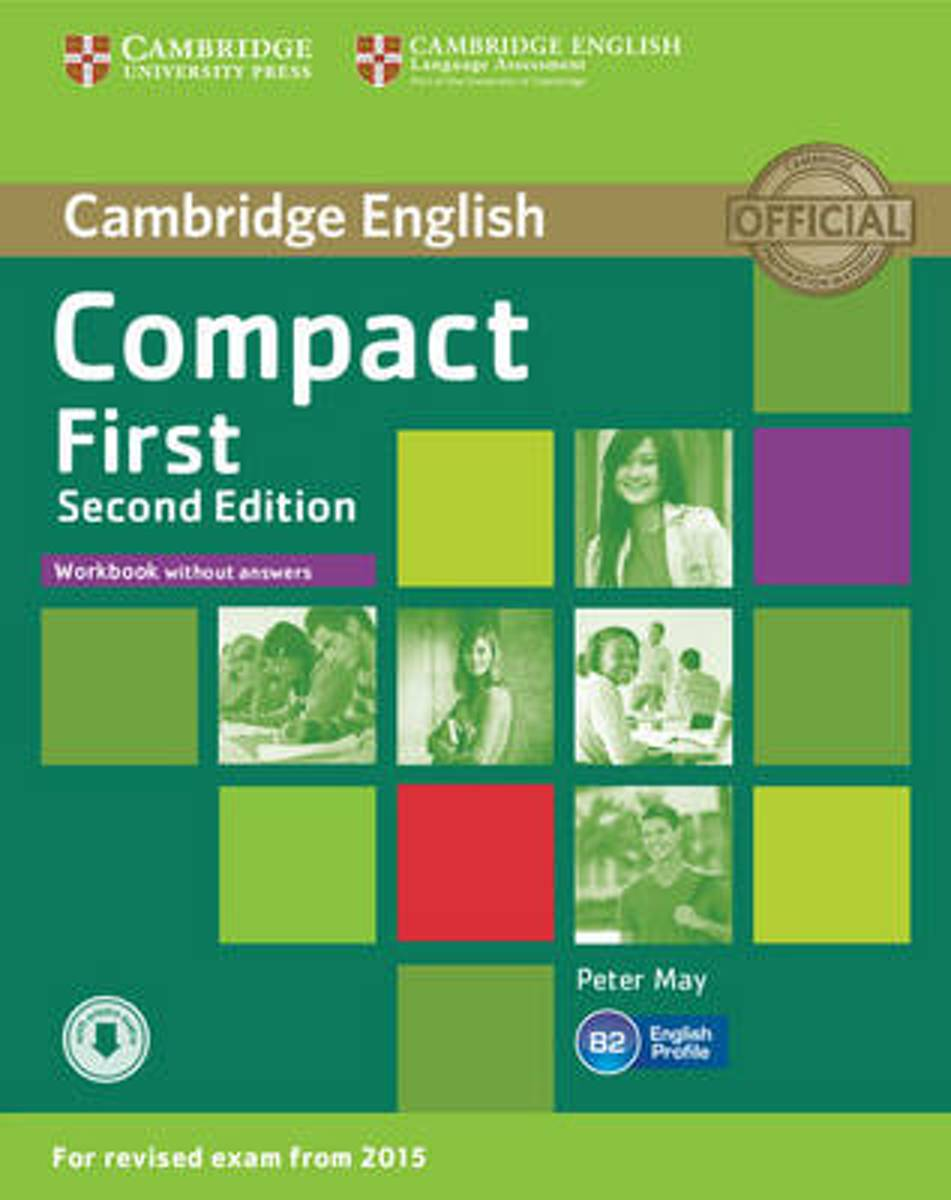 Compact First Workbook without Answers with Audio