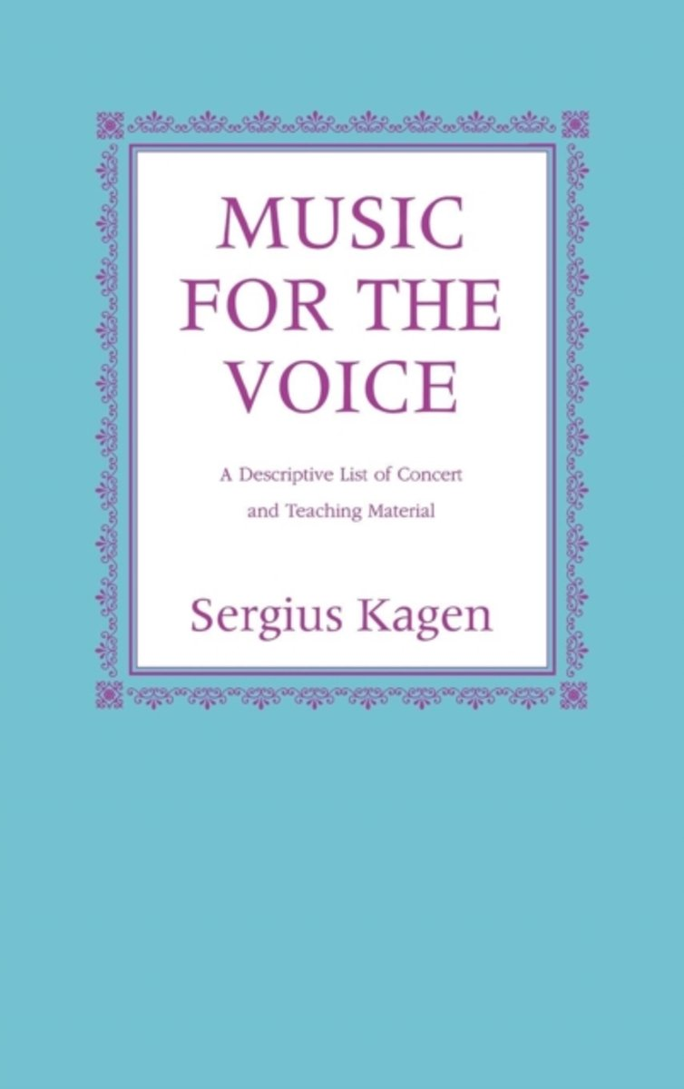 Music for the Voice, Revised Edition