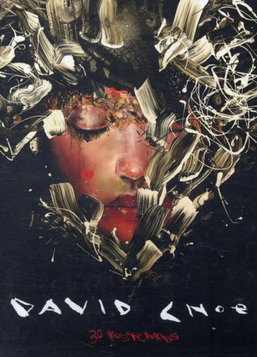 David Choe Postcard Book