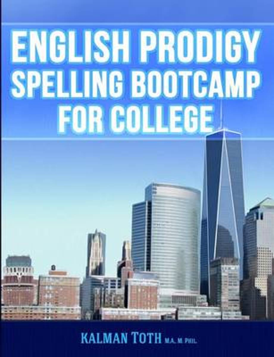 English Prodigy Spelling Bootcamp for College