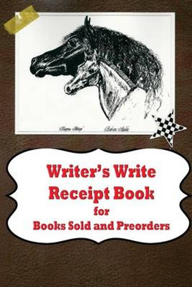 Writer's Write Receipt Book for Books Sold and Preorders
