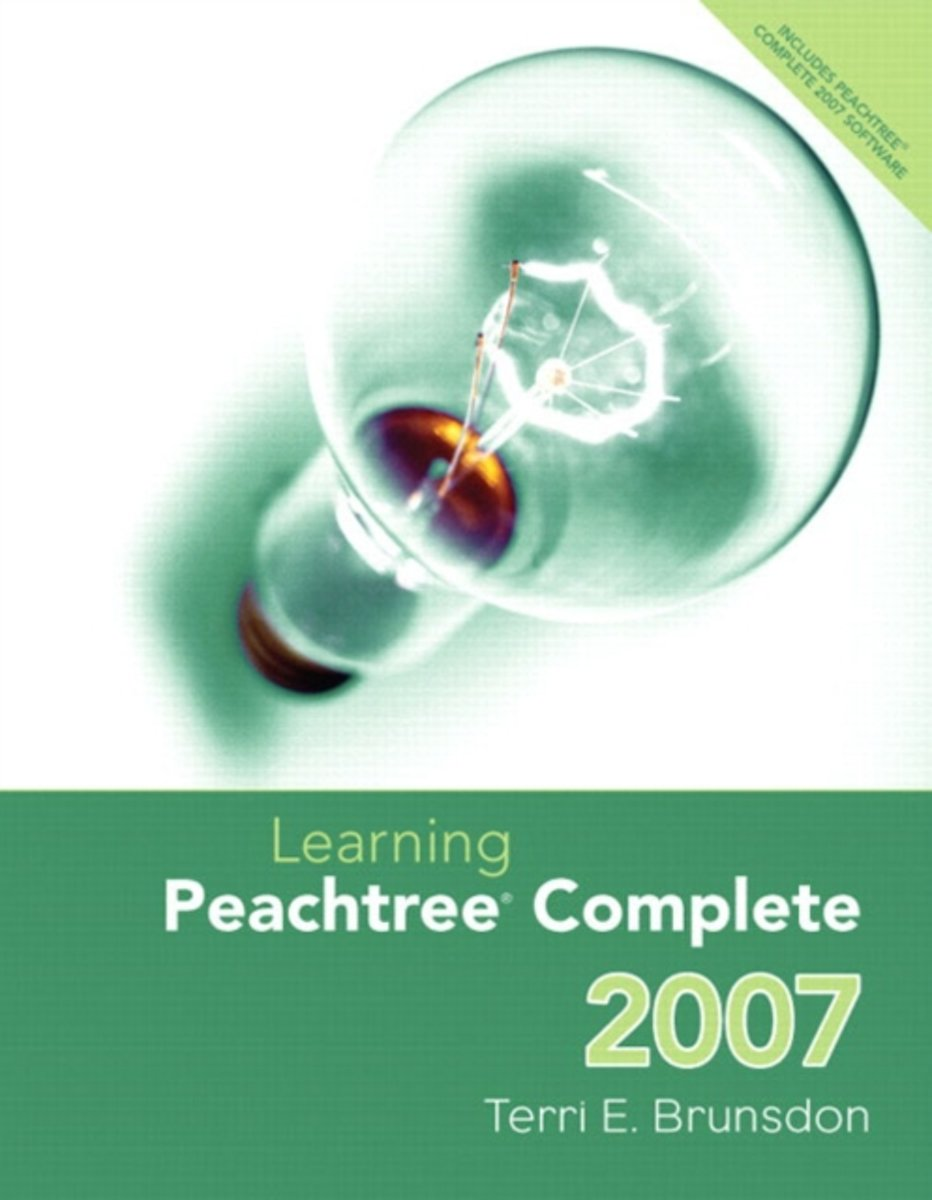 Learning Peachtree Complete 2007