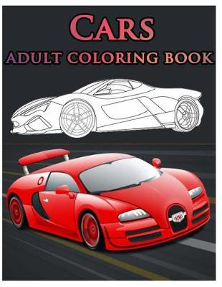 Cars Adult Coloring Book