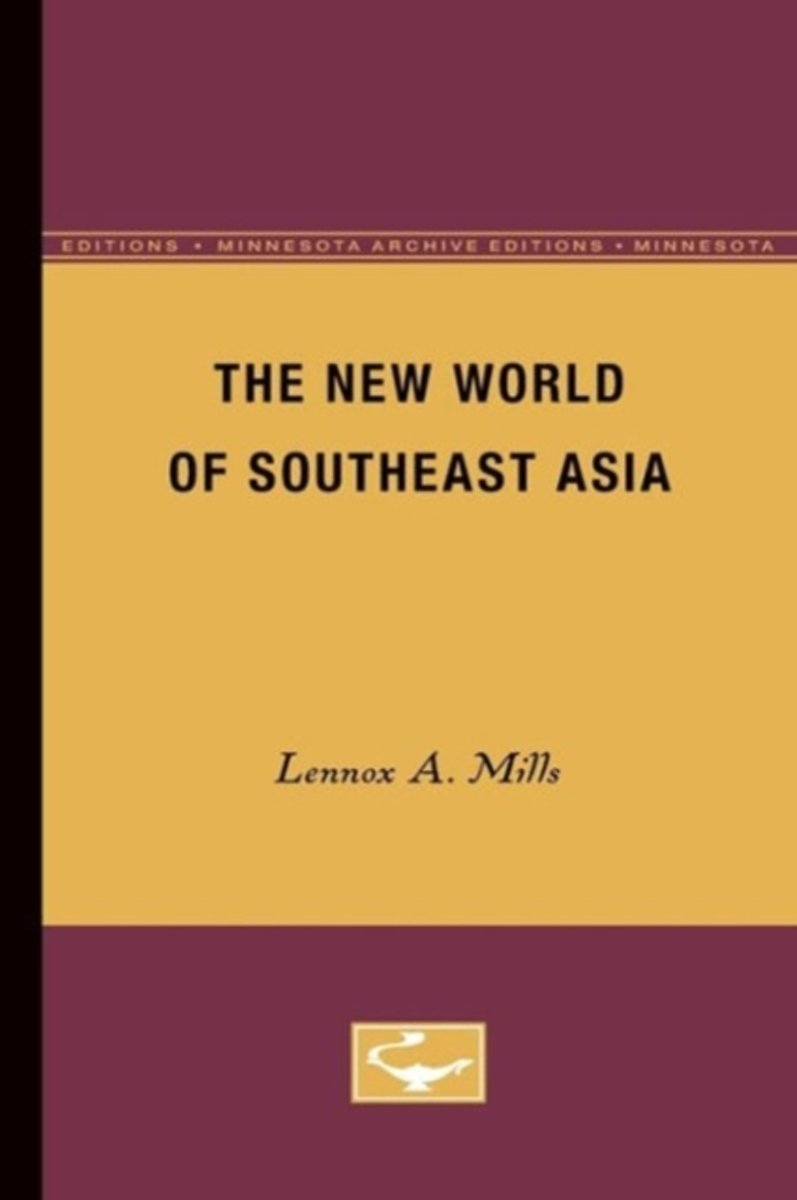 The New World of Southeast Asia