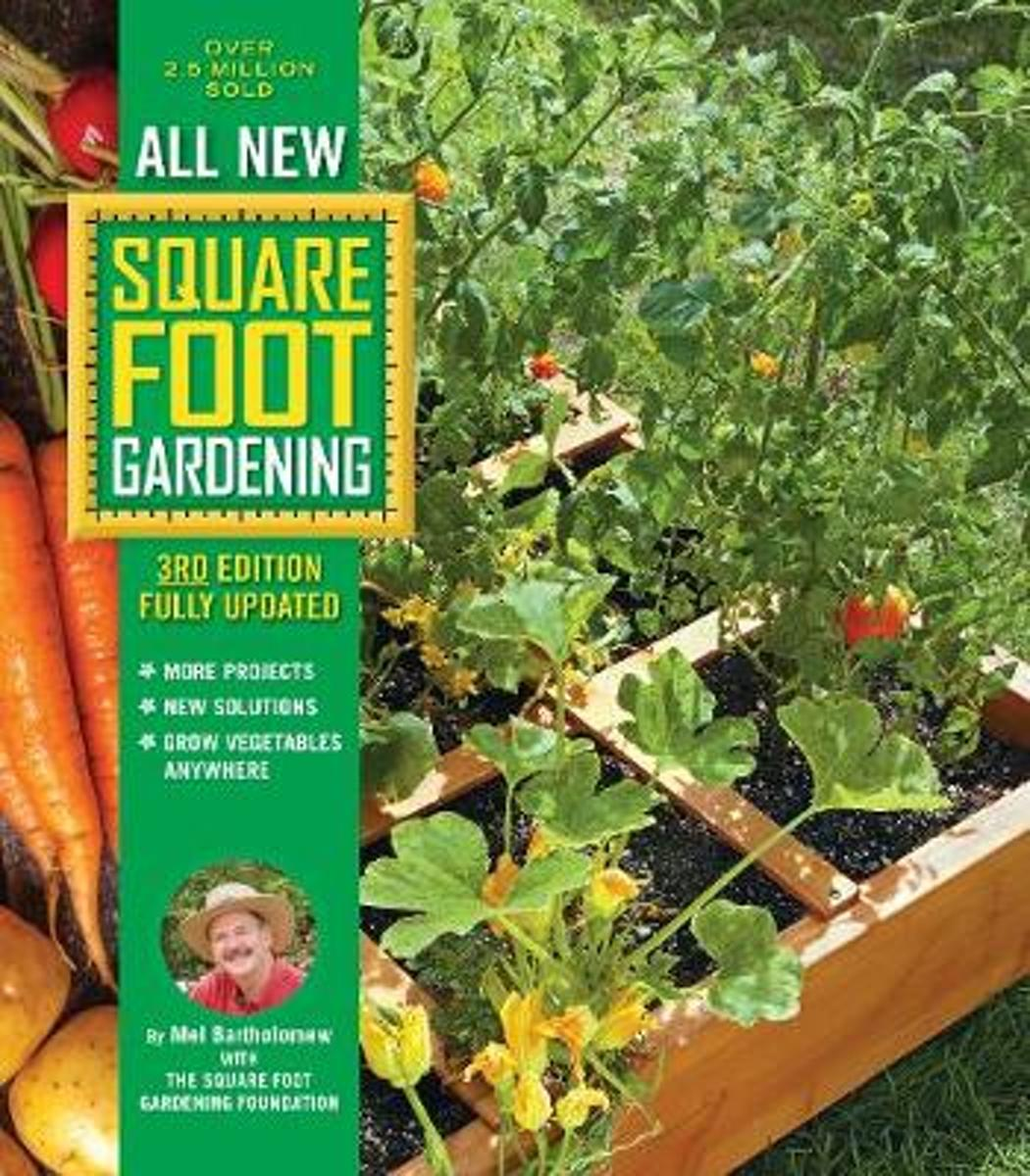 All New Square Foot Gardening, 3rd Edition, Fully Updated image
