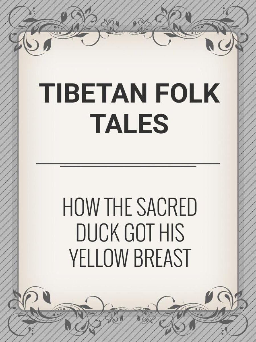 How the Sacred Duck Got His Yellow Breast