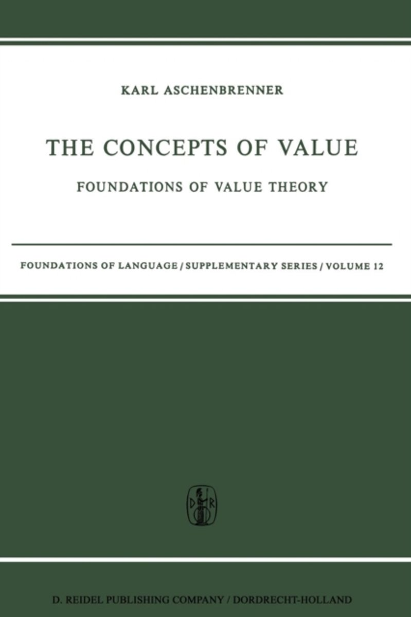 The Concepts of Value