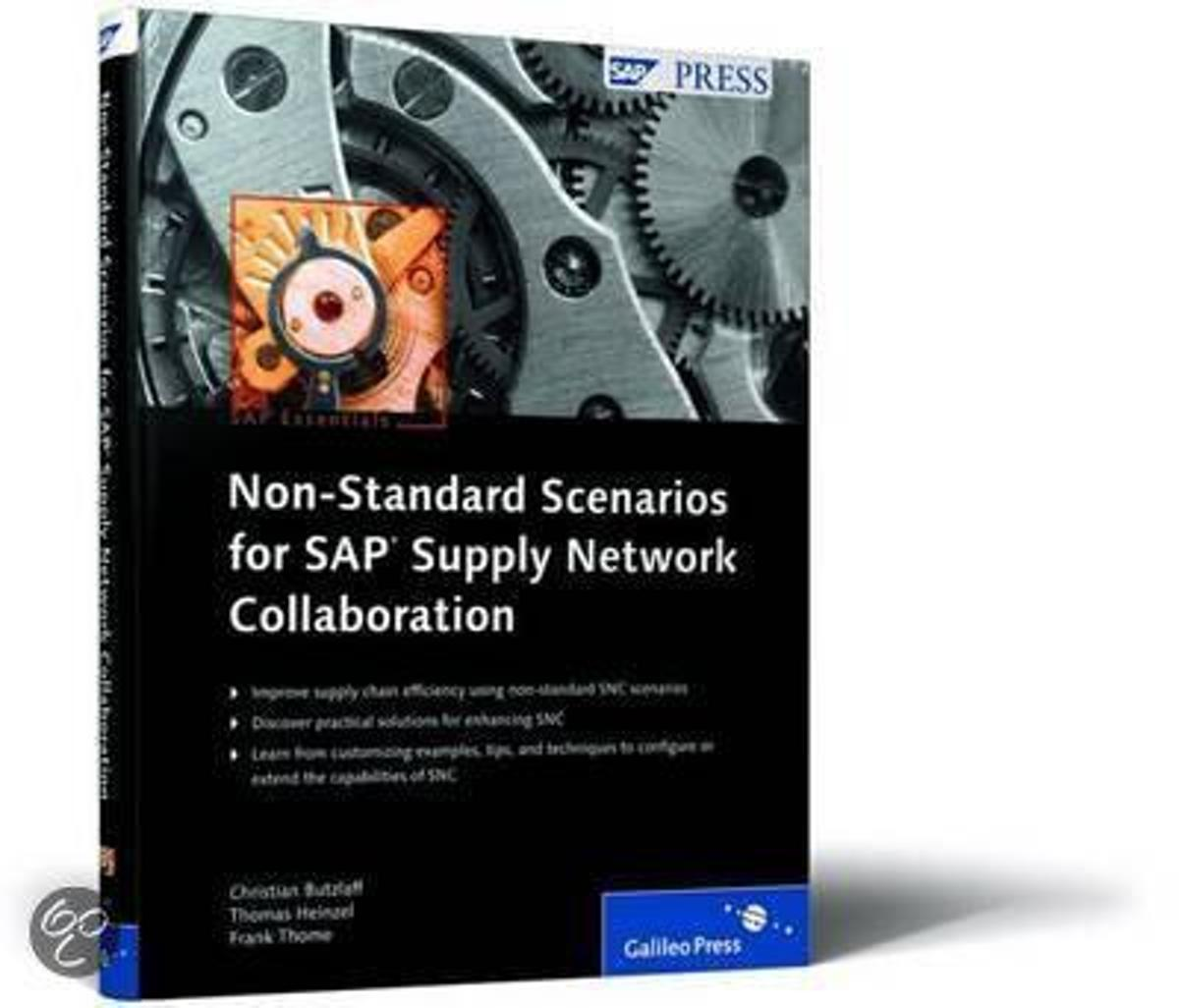 SAP Non-Standard Scenarios for Supply Network Collaboration