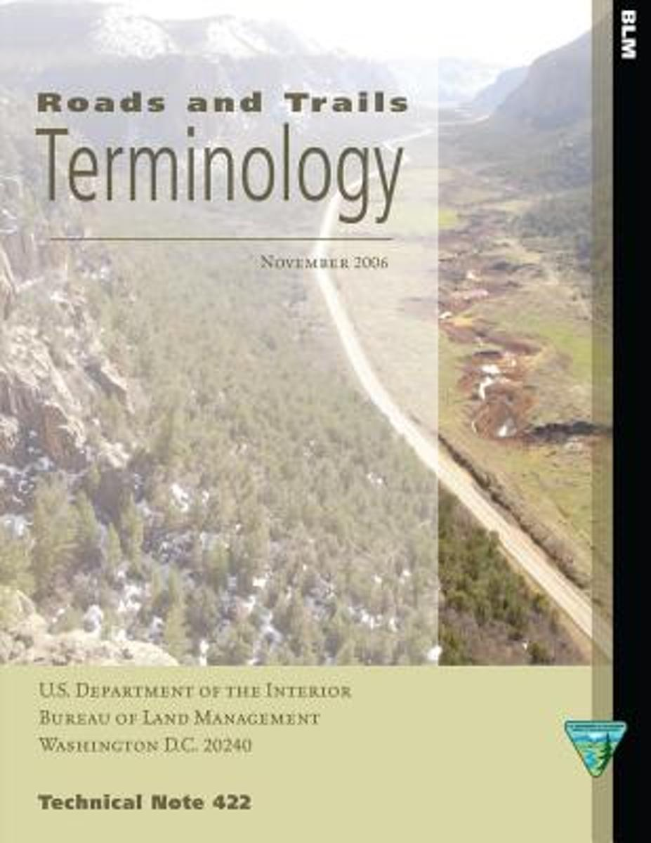 Roads and Trails Terminology
