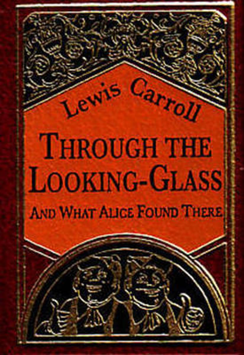 Through the Looking-Glass Minibook - Limited gilt-edged edition