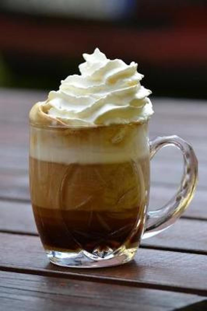 A Blended Coffee Drink with Extra Whipped Cream Journal