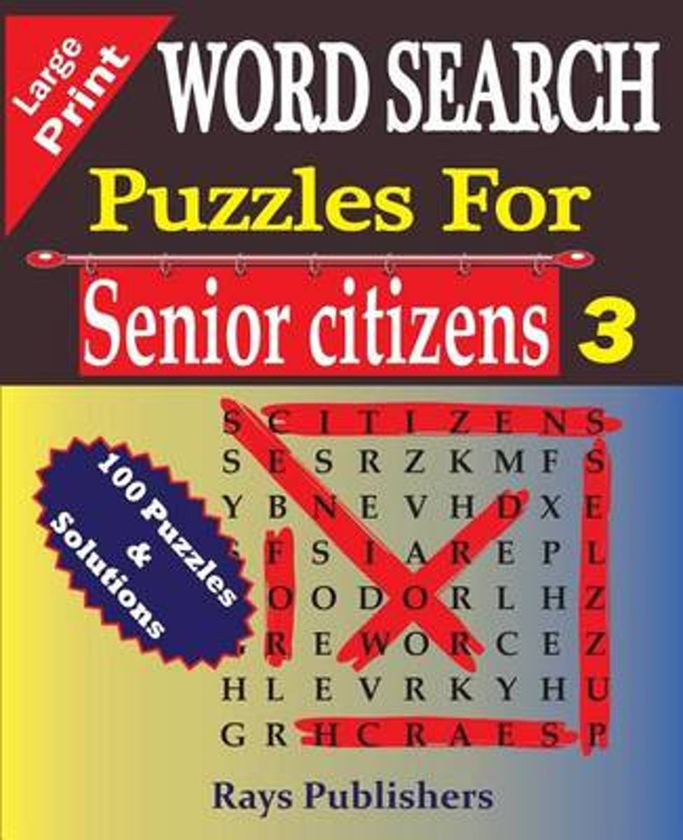 Word Search Puzzles for Senior Citizens 3