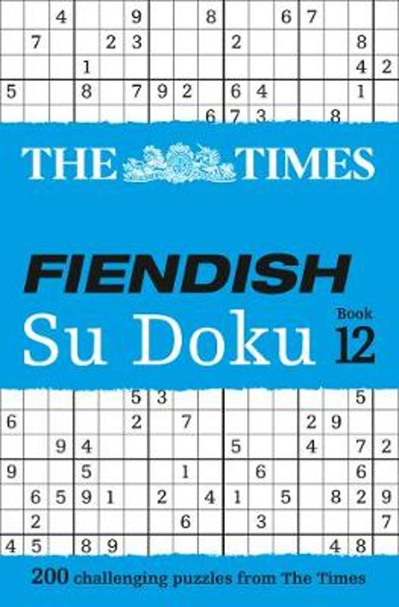 The Times Fiendish Su Doku Book 12