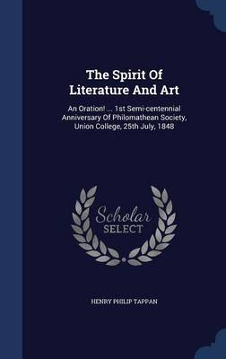 The Spirit of Literature and Art