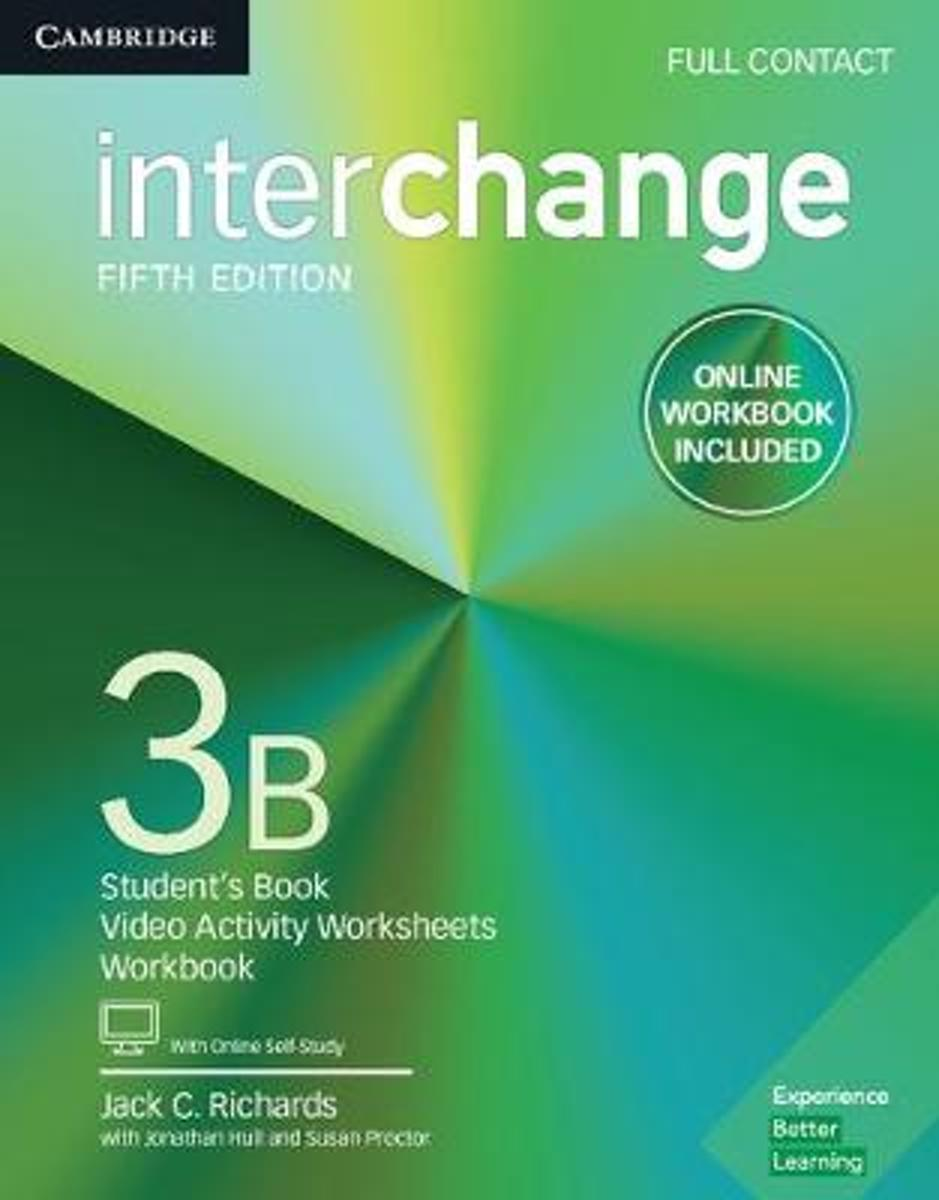 Interchange Level 3B Full Contact with Online Self-Study and Online Workbook