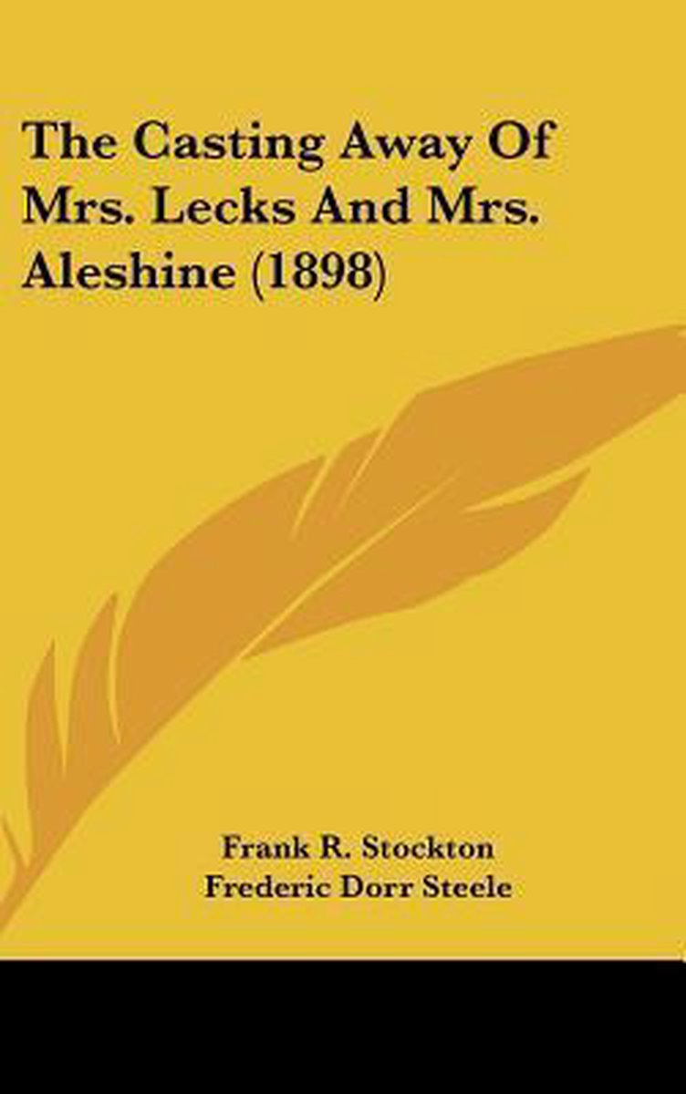 The Casting Away of Mrs. Lecks and Mrs. Aleshine (1898)
