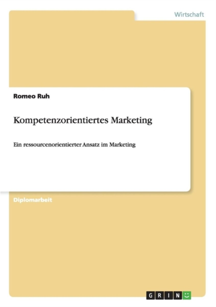 Kompetenzorientiertes Marketing